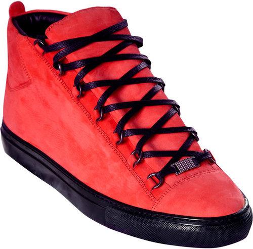 Balenciaga Nubuck High Sneaker