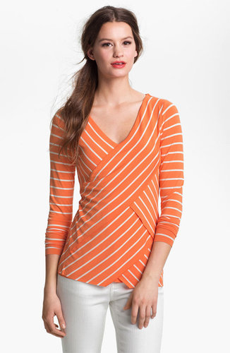 Vince Camuto Stripe Bandage Top
