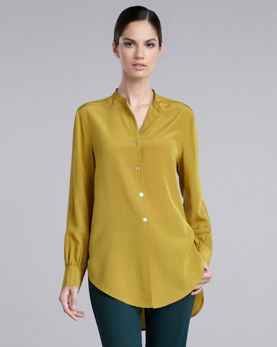 St. John Collection Silk Tunic