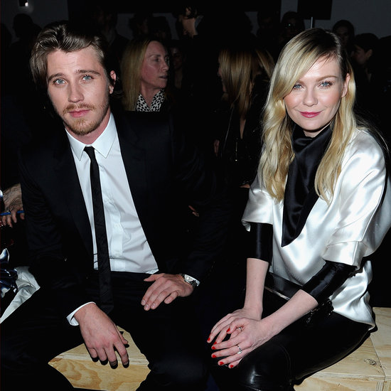 Kirsten Dunst and Garrett Hedlund at Paris Fashion Week