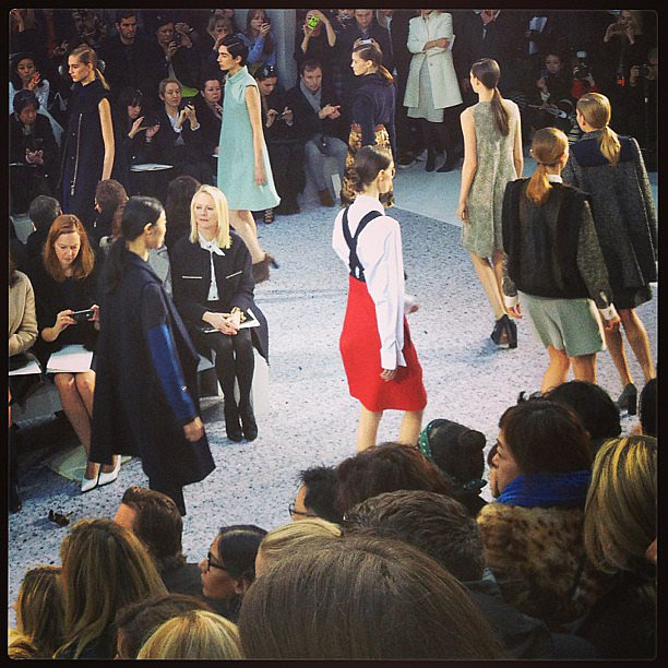 The finale at Chloé.