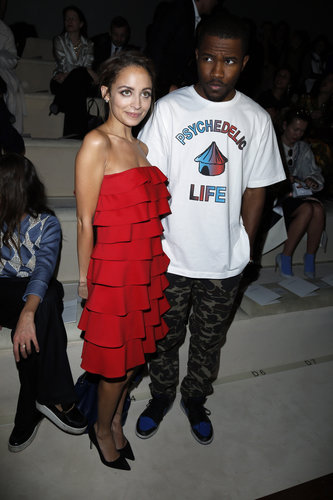 Nicole Richie and Frank Ocean attended Valentino in Paris for Fashion Week in March.