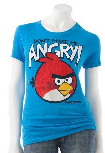 "Fifth sun angry birds ""don't make me angry!"" tee"