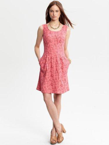 Trish textured dress