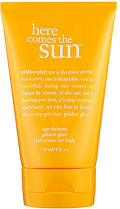 Philosophy Here Comes the SunTM; Age- Defense Golden Glow Self-Tanner For Body