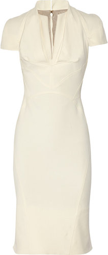Zac Posen Stretch cotton-crepe dress