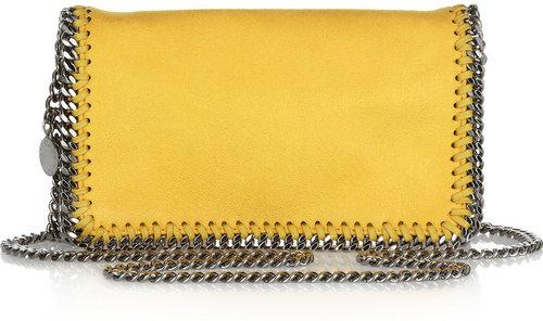 Stella McCartney Falabella small faux suede shoulder bag