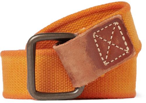 Jean Shop Cotton Canvas Belt
