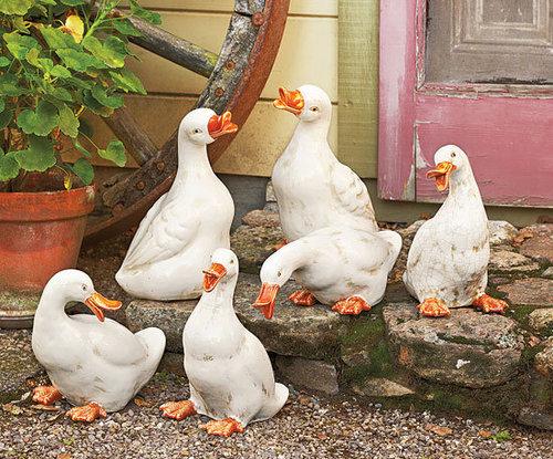 Ceramic Duck Menagerie