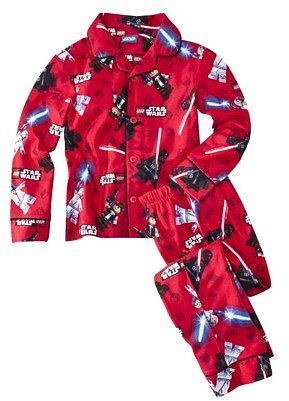 Star War Lego® Boys Long-Sleeve 2-Piece Star Battle Pajama Set - Red