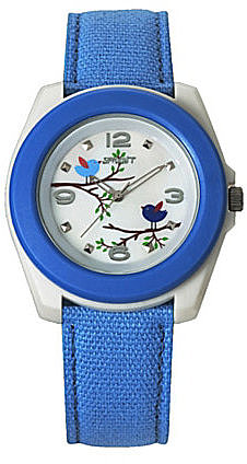 "Sprout ""Birds and Branches"" Blue Watch"