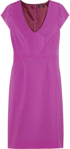 J.Crew Director stretch wool-twill dress