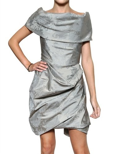 Vivienne Westwood - Peony Print Taffeta Dress