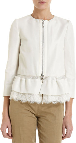 Sacai Ruffle Skirt Crop Jacket