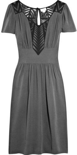 Temperley London Camilla silk-crepe dress