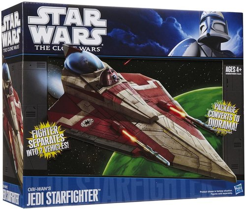 Hasbro Star Wars The Clone Wars Obi-Wan's Jedi Starfighter