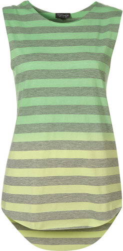 Dip Dye Stripe Tank Top