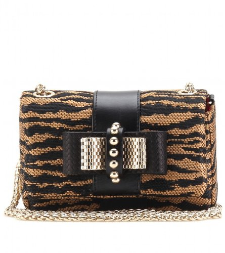Christian Louboutin SWEET CHARITY PANAMA TIGER CLUTCH