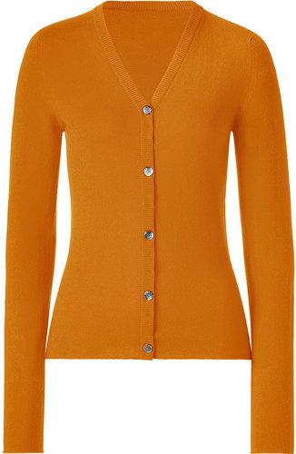 Lucien Pellat-Finet Orange V-Neck L/S Cardigan