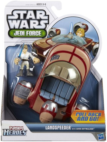 Hasbro Star Wars Jedi Force Land Speeder w/ Luke