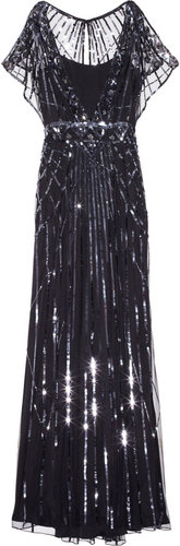 Temperley London Web embellished tulle gown