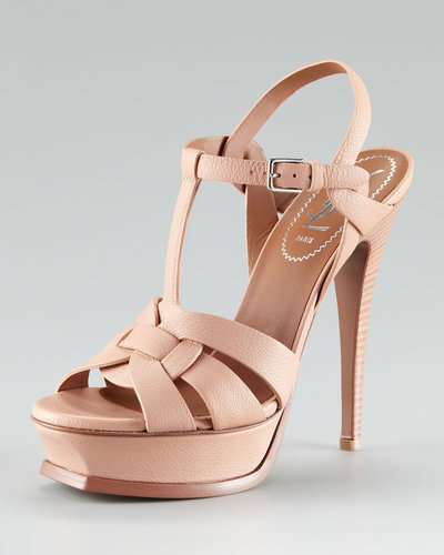 Yves Saint Laurent Tribute Platform Sandal