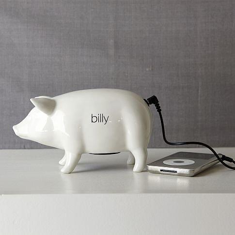 Ceramic Pig Speaker