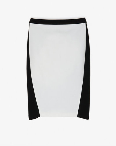 Exclusive For Intermix Stretch Knit Colorblock Skirt