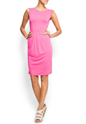V-shape back dress