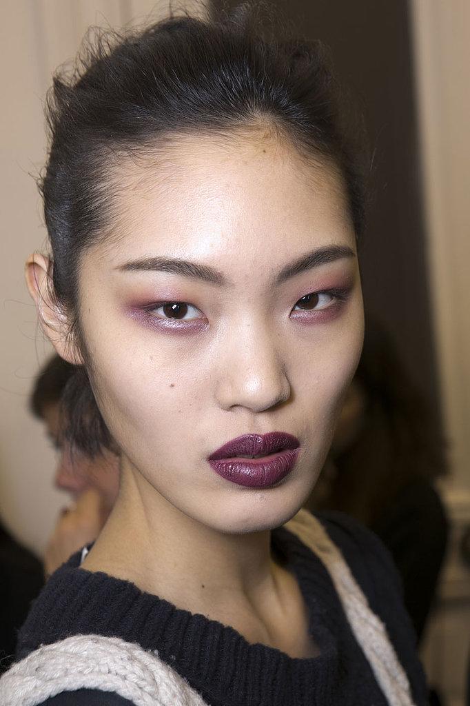 The Makeup at Anthony Vaccarello, Paris