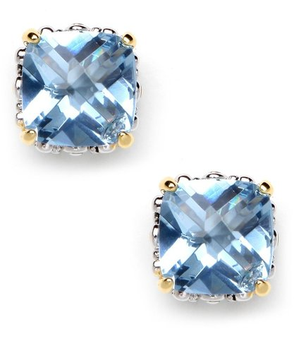 Sky Cushion Cut Studs