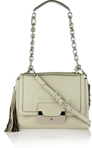 Diane von Furstenberg Harper Connect leather shoulder bag