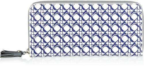 Diane von Furstenberg Printed leather wallet