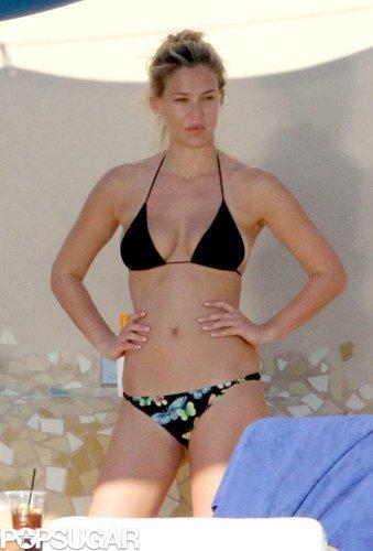 Bar Refaeli took advantage of her December 2010 Mexican getaway with bikini time.