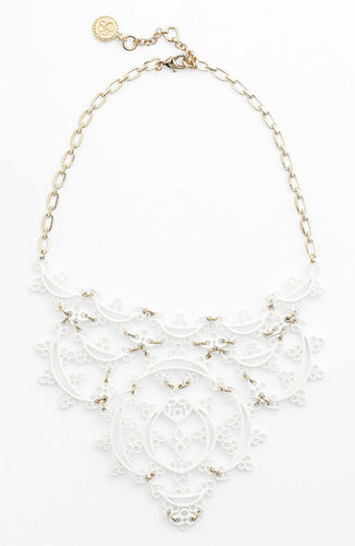 Jessica Simpson 'Lacey' Bib Necklace