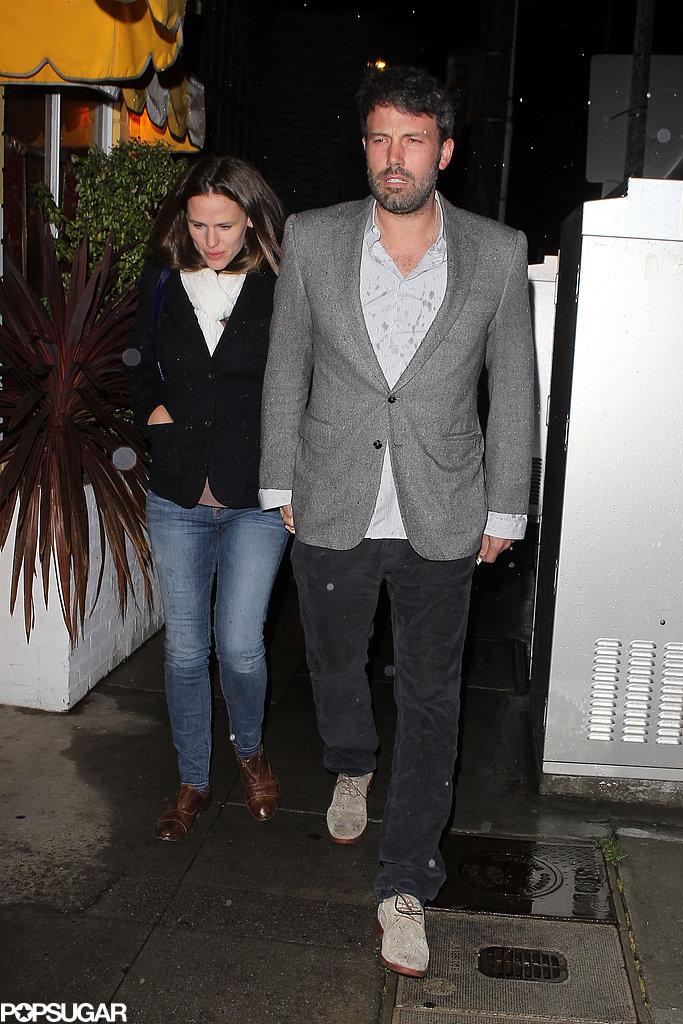 Ben Affleck and Jennifer Garner had a date night.