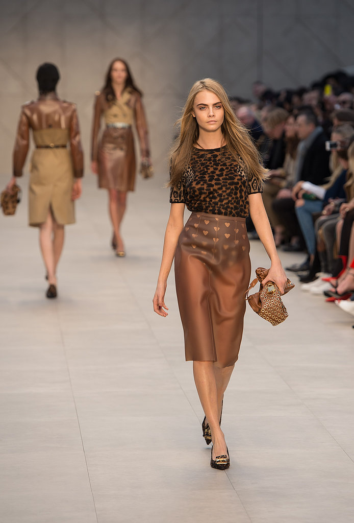 Cara Delevingne for Burberry Prorsum, London