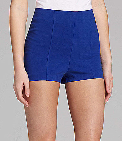 Stoosh High-Waist Colored Shorts