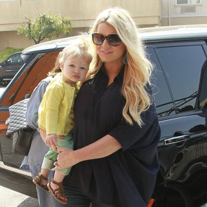 Pregnant Jessica Simpson With Baby Maxwell | Pictures