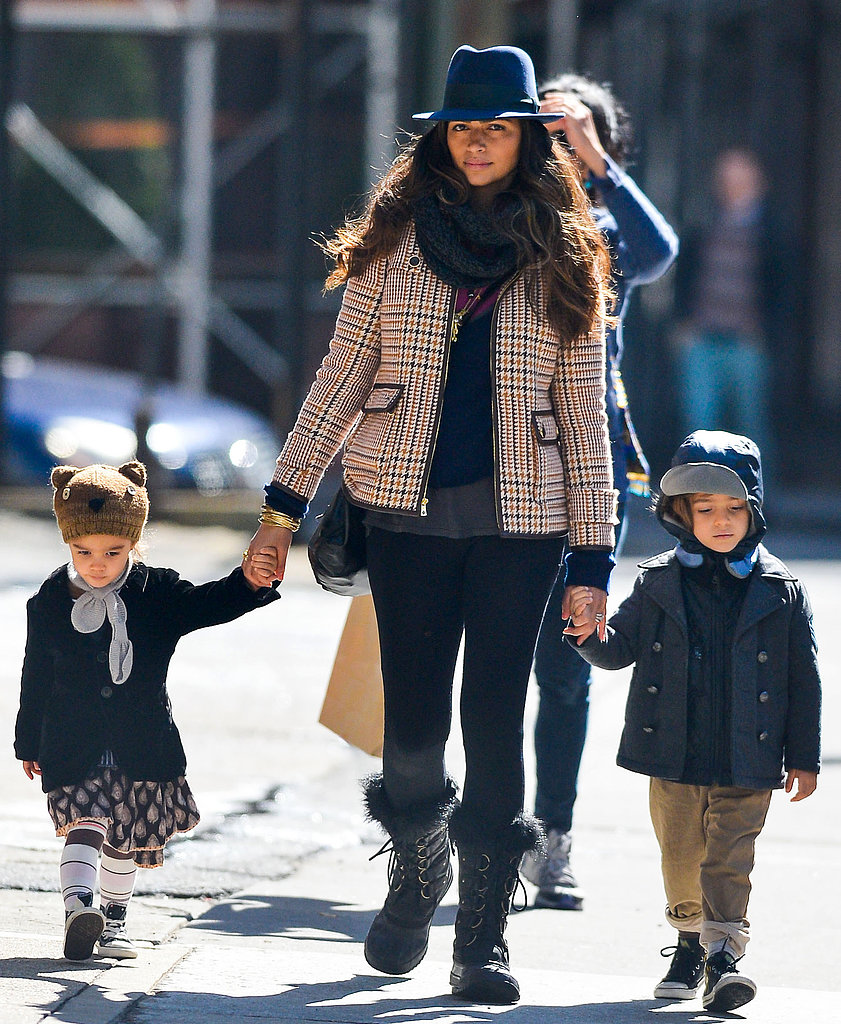Camila and the Kids Hit the NYC Streets While Matthew Takes On SXSW