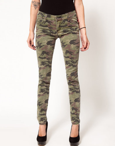 Tripp Nyc Camo Skinny Jeans