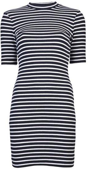 T By Alexander Wang Striped Dress