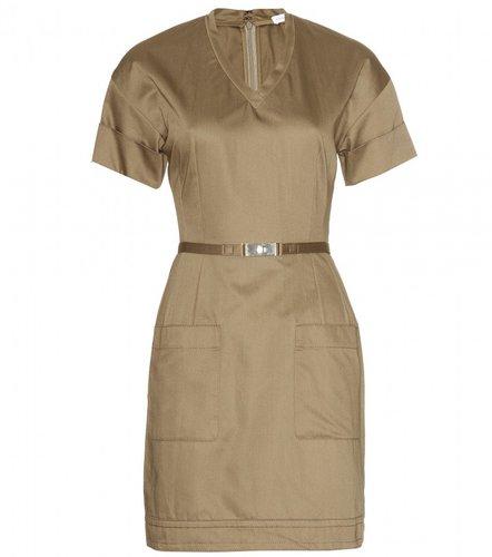 Victoria, Victoria Beckham BELTED DRESS