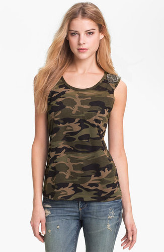 KUT from the Kloth 'Luna' Camo Top