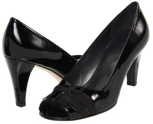 Stuart Weitzman - Ontape (Black Patent) - Footwear