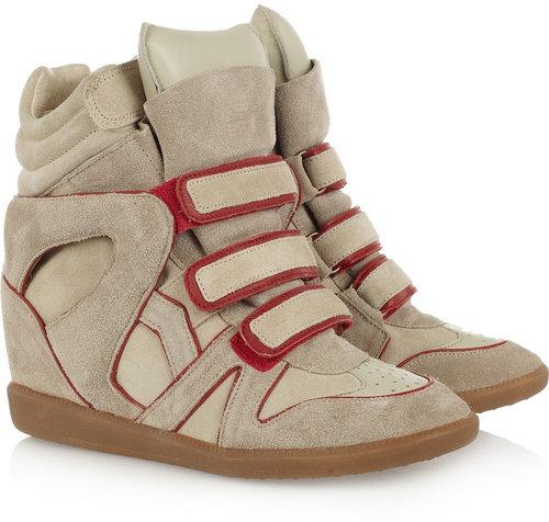 Isabel Marant The Bekket high-top suede sneakers