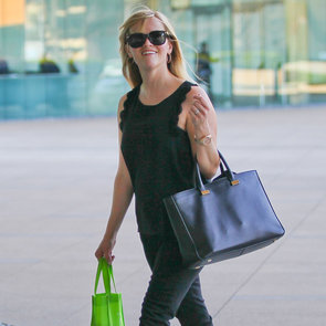 Reese Witherspoon Wearing All Black in LA | Pictures