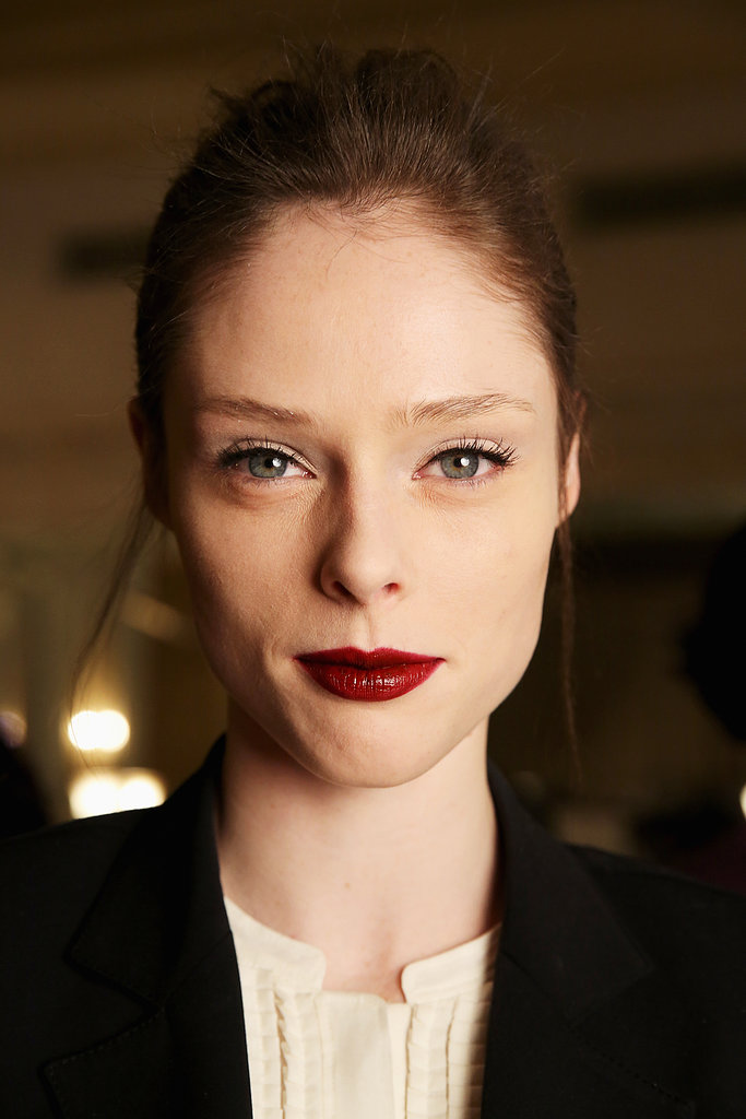 Dark & Semi-Stained Lips: Zac Posen
