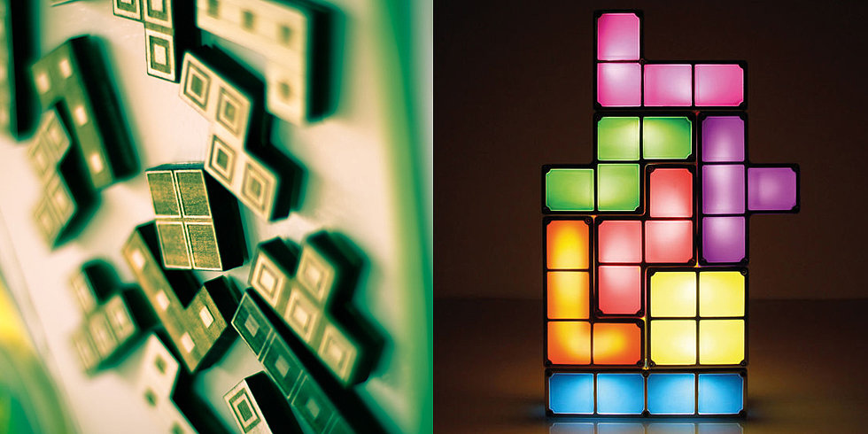 Tetris Decor: Bold, Bright, and Perfectly Cubed!