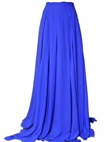 Antonio Berardi - Crepe De Chine Long Skirt